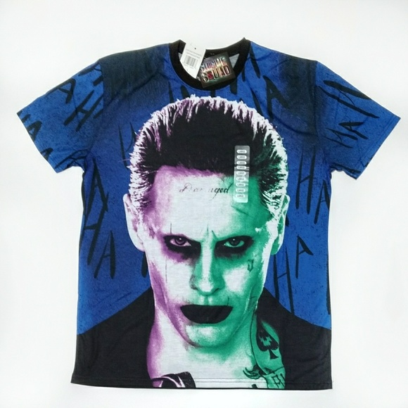 995189958 Suicide Squad Shirts | Joker Mens Graphic Tee Shirt Large | Poshmark